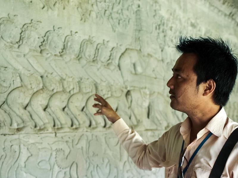 Bild zu Lokaler Guide inKambodscha