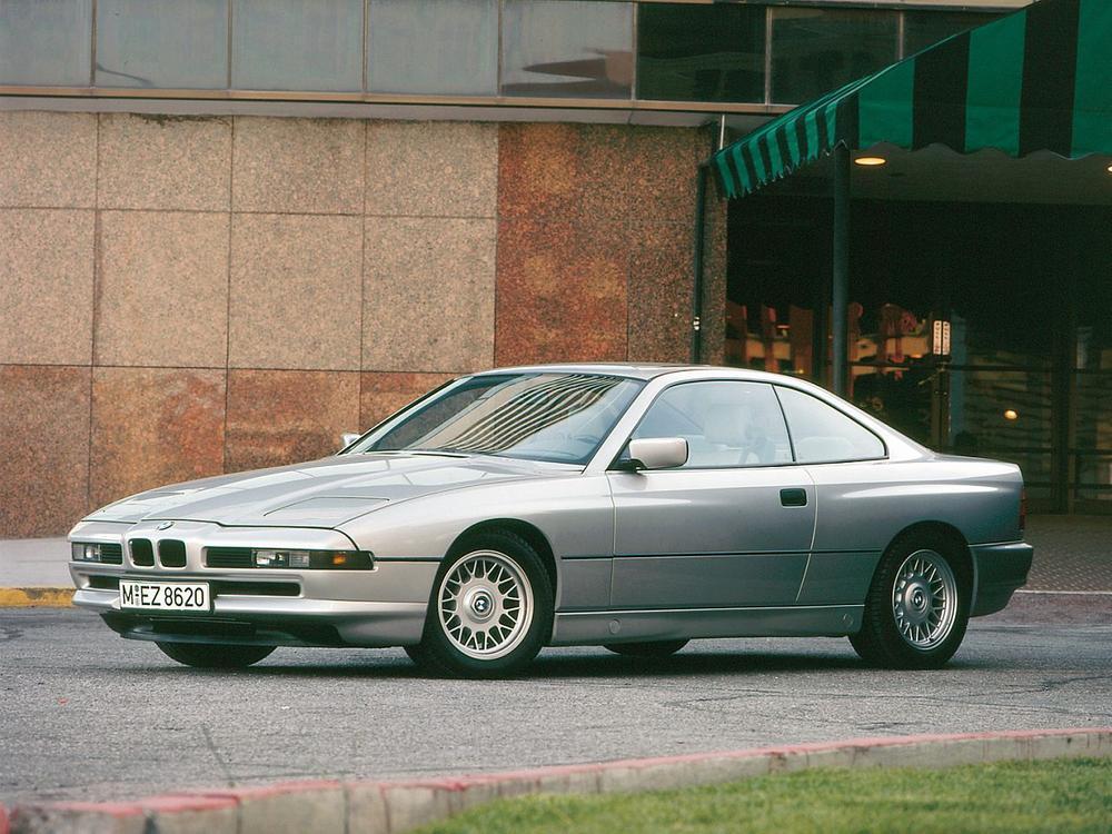 Bild zu Platz 4: BMW 850i