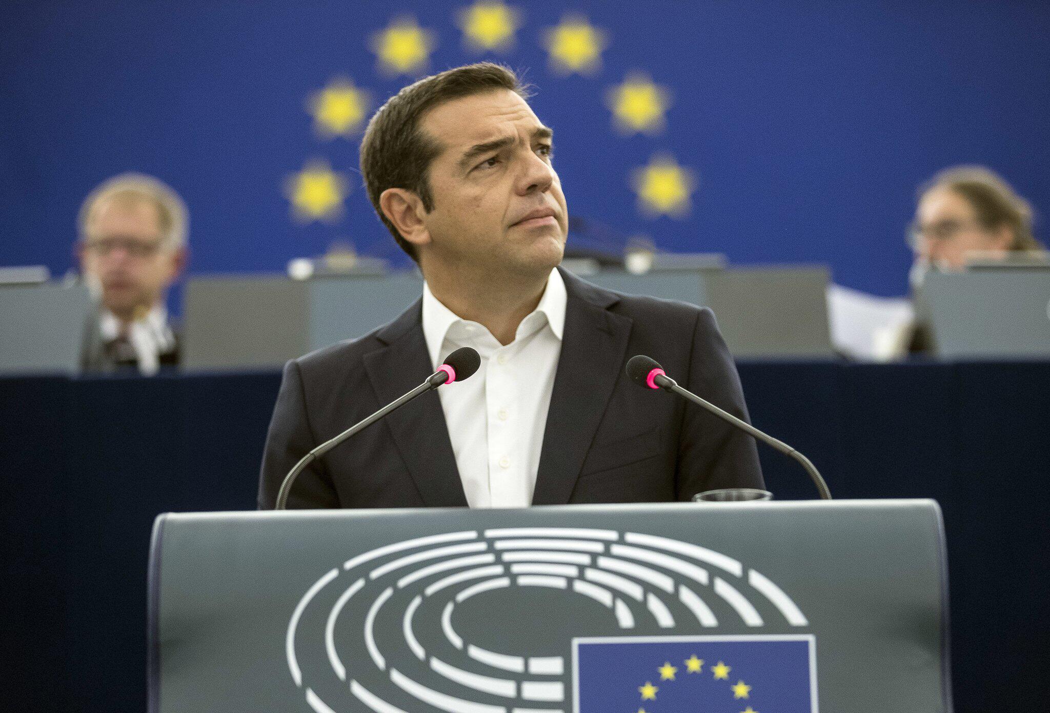 Bild zu Plenarsitzung des EU-Parlaments - Tsipras