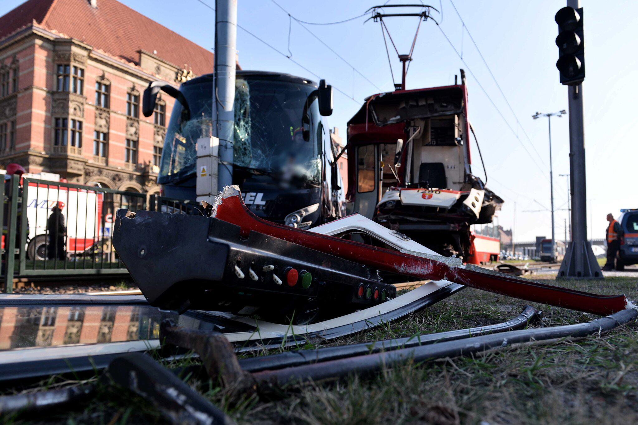 Bild zu Straßenbahn-Kollision in Danzig