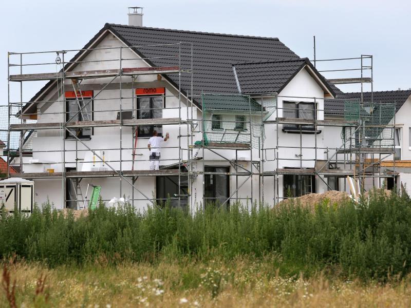 Bild zu Einfamilienhaus im Bau