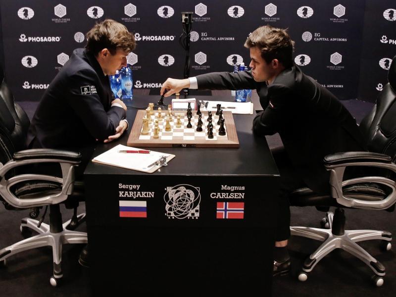 Bild zu Schach-WM