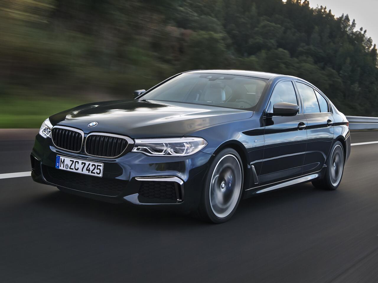 Bild zu Oberklasse: BMW 5er
