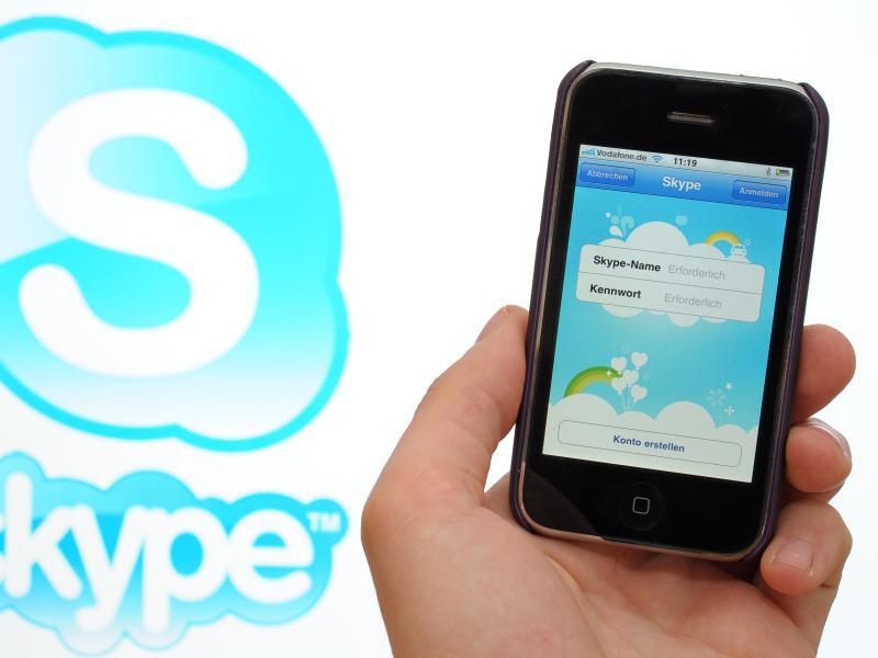 Bild zu Skype-App