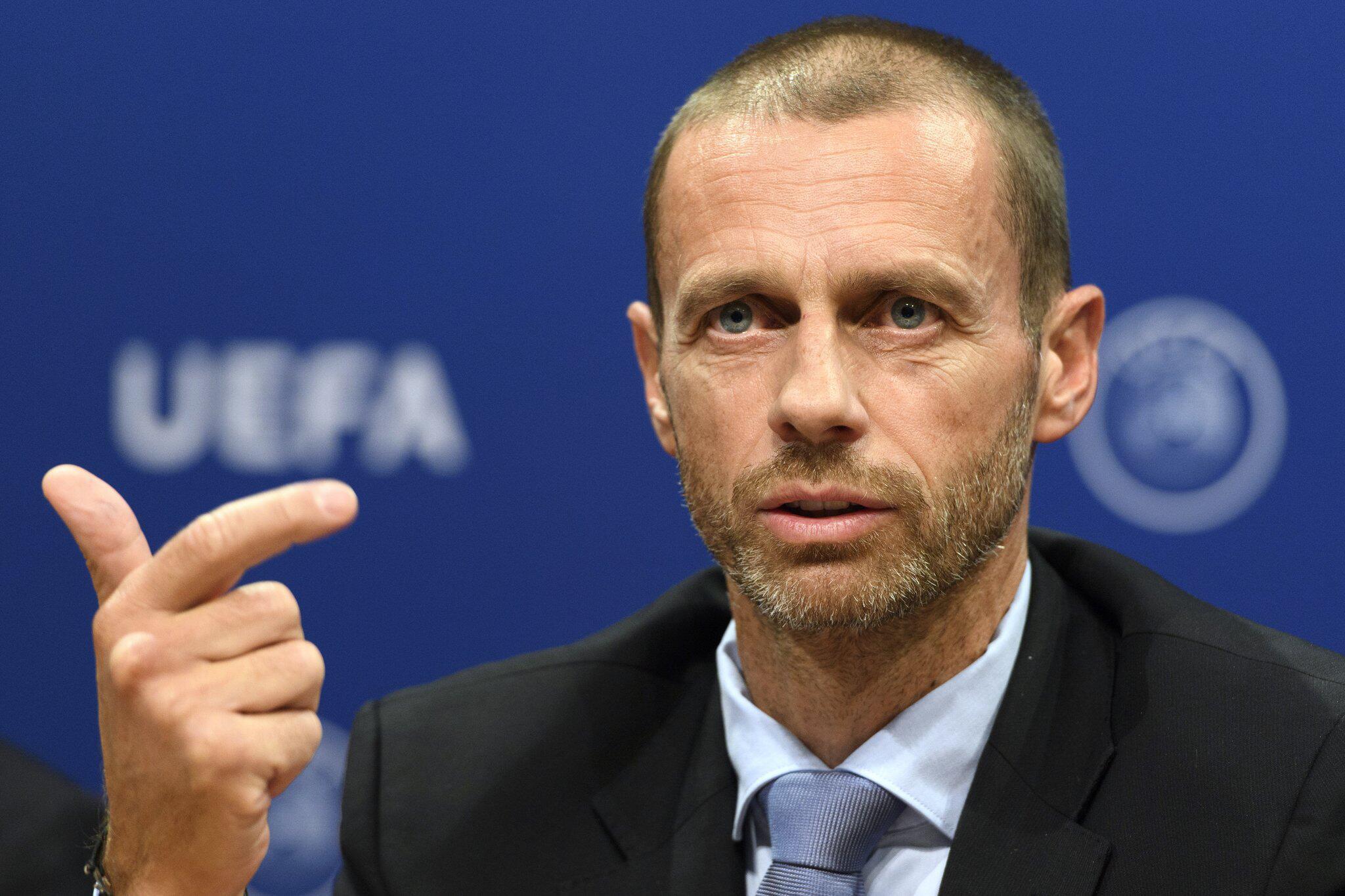 Bild zu UEFA Exekutivkomitee-Treffen - Ceferin