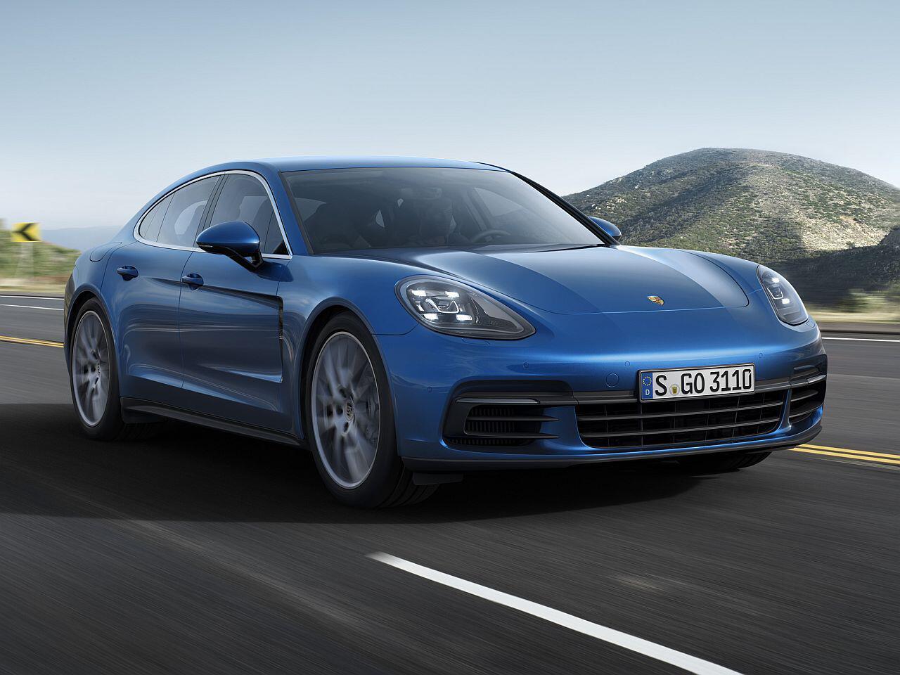 Bild zu Luxusklasse: Porsche Panamera