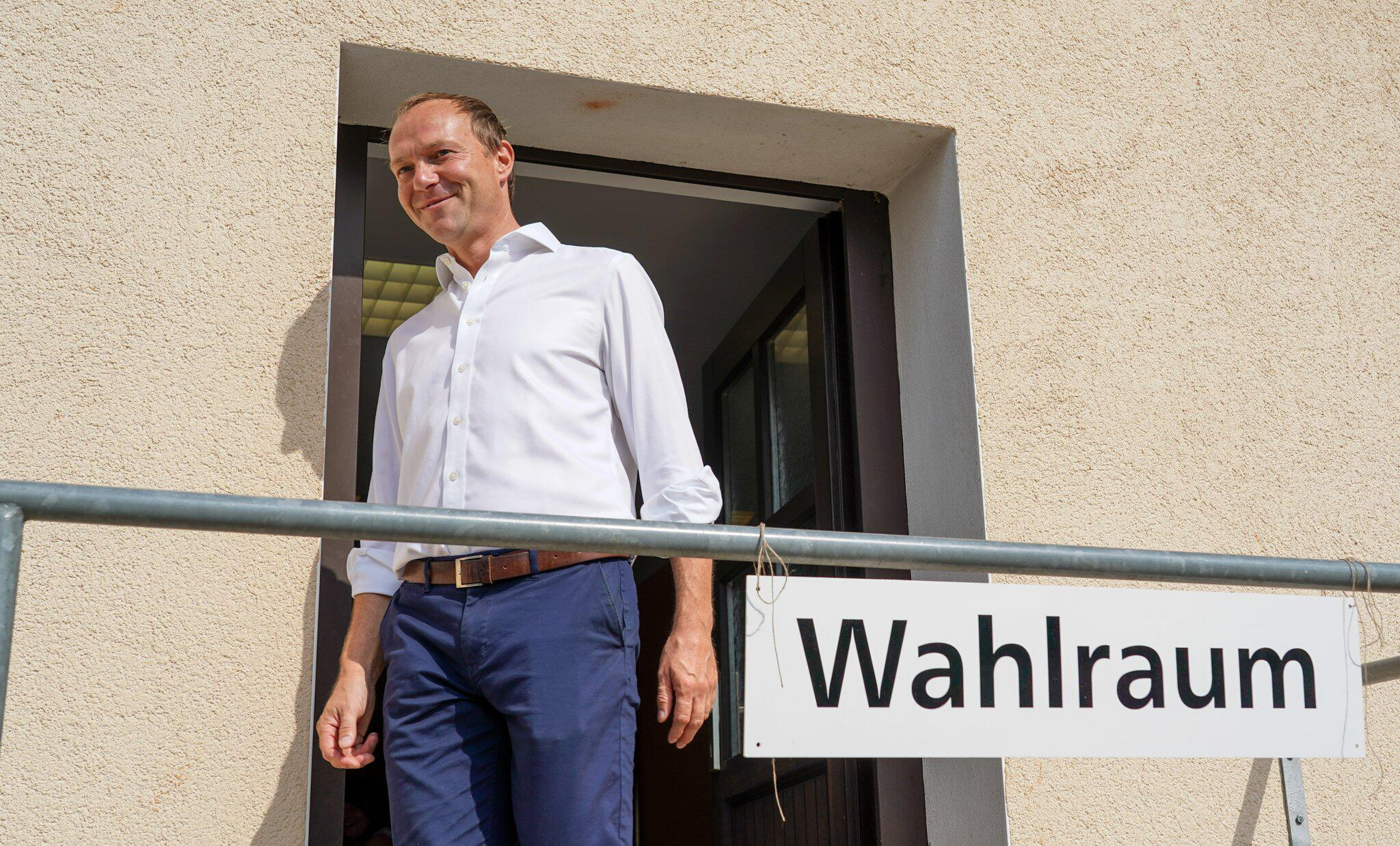 Bild zu Landtagswahl Sachsen - Stimmabgabe Bündnis90/Grüne