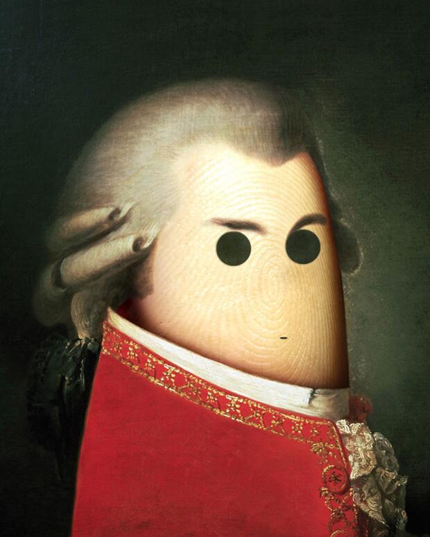 Bild zu Daumen als Mozart