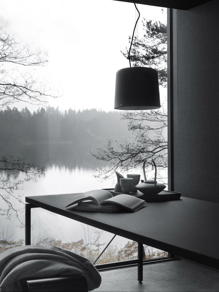 Bild zu Design-Haus in der Natur Dänemarks. Dekorationsgegenstände.