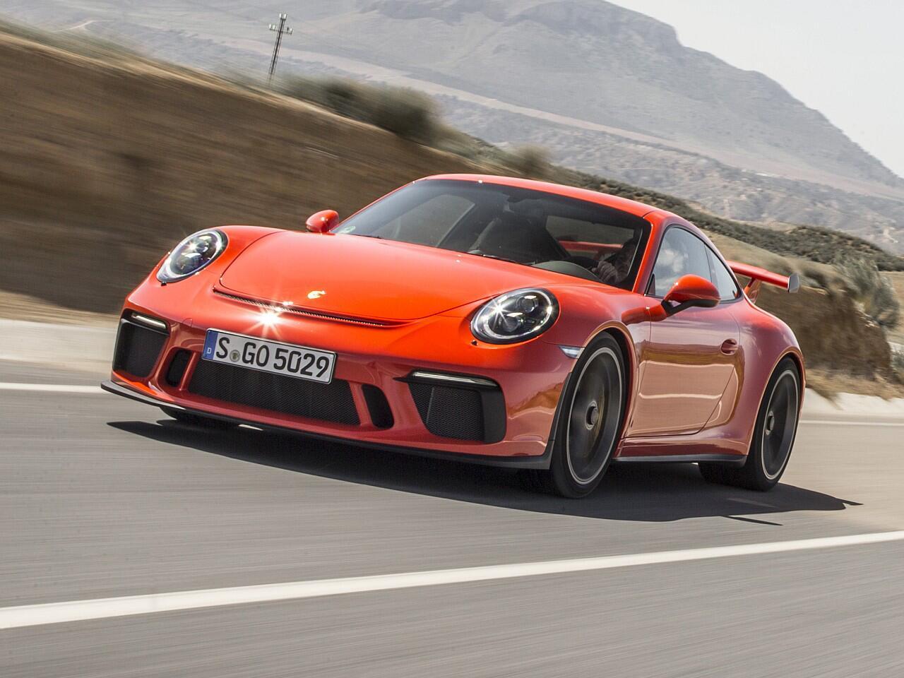 Bild zu Sportwagen: Porsche 911 GT3