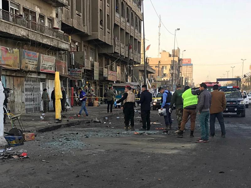 Bild zu Doppelanschlag in Bagdad