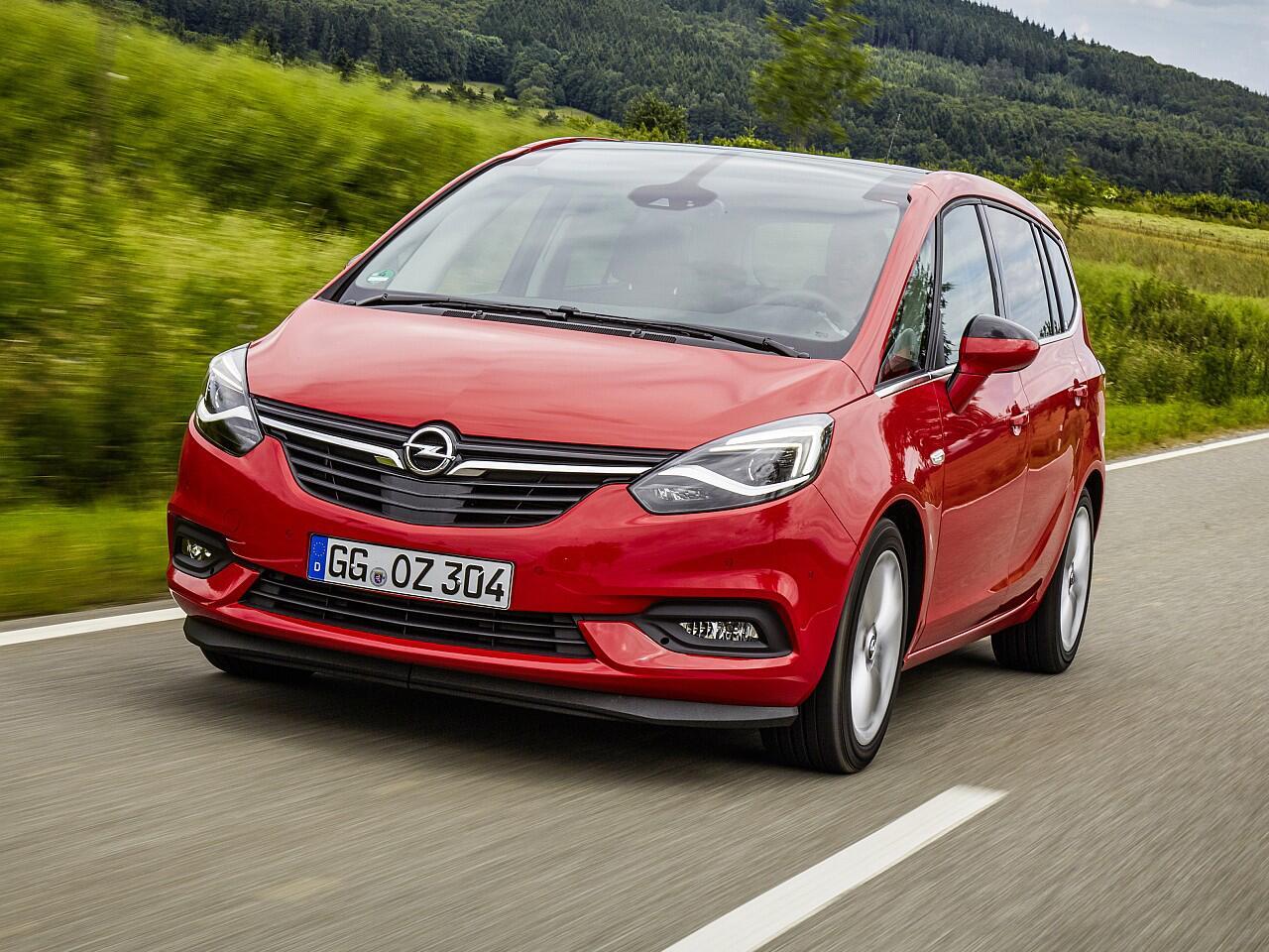 Bild zu Kompaktvans: Opel Zafira