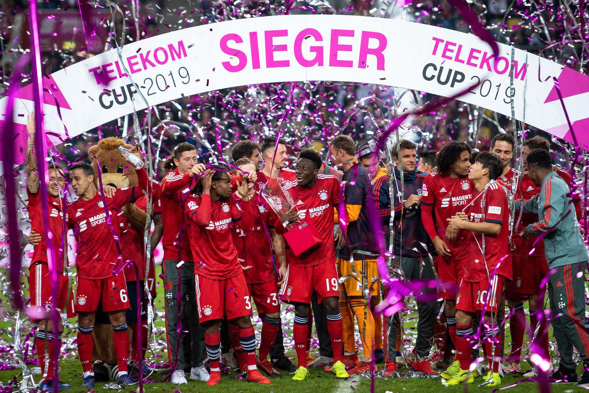Bild zu Telekom-Cup