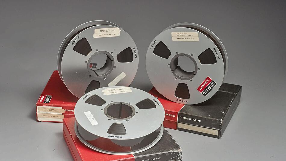 Original-Videoaufnahmen der Mondlandung werden versteigert
