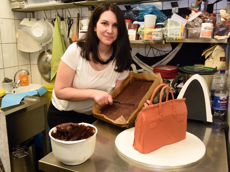 Bild zu Tortenkünstlerin Marie Labude