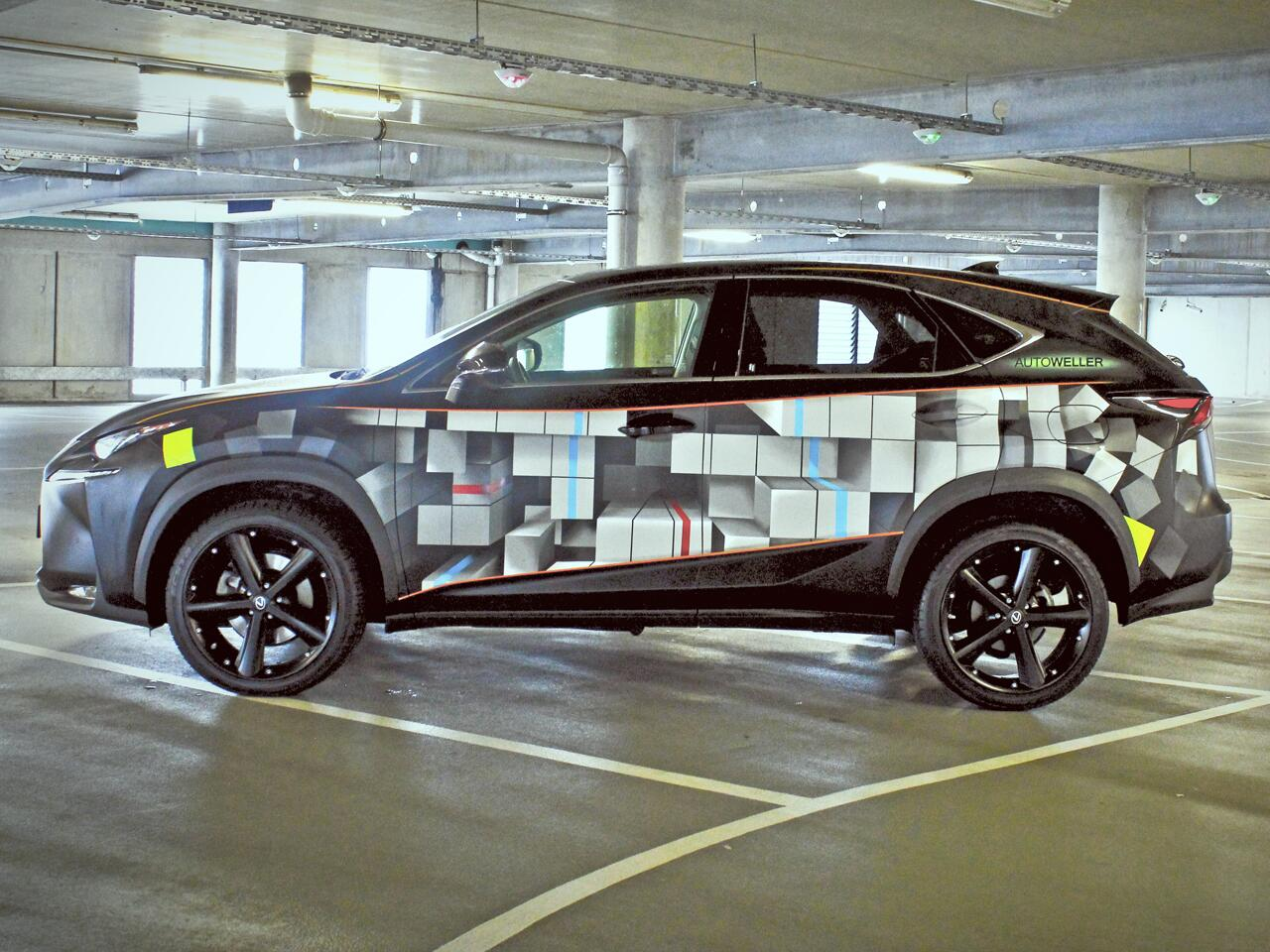 Bild zu Lexus NX mit 3D-Effekt