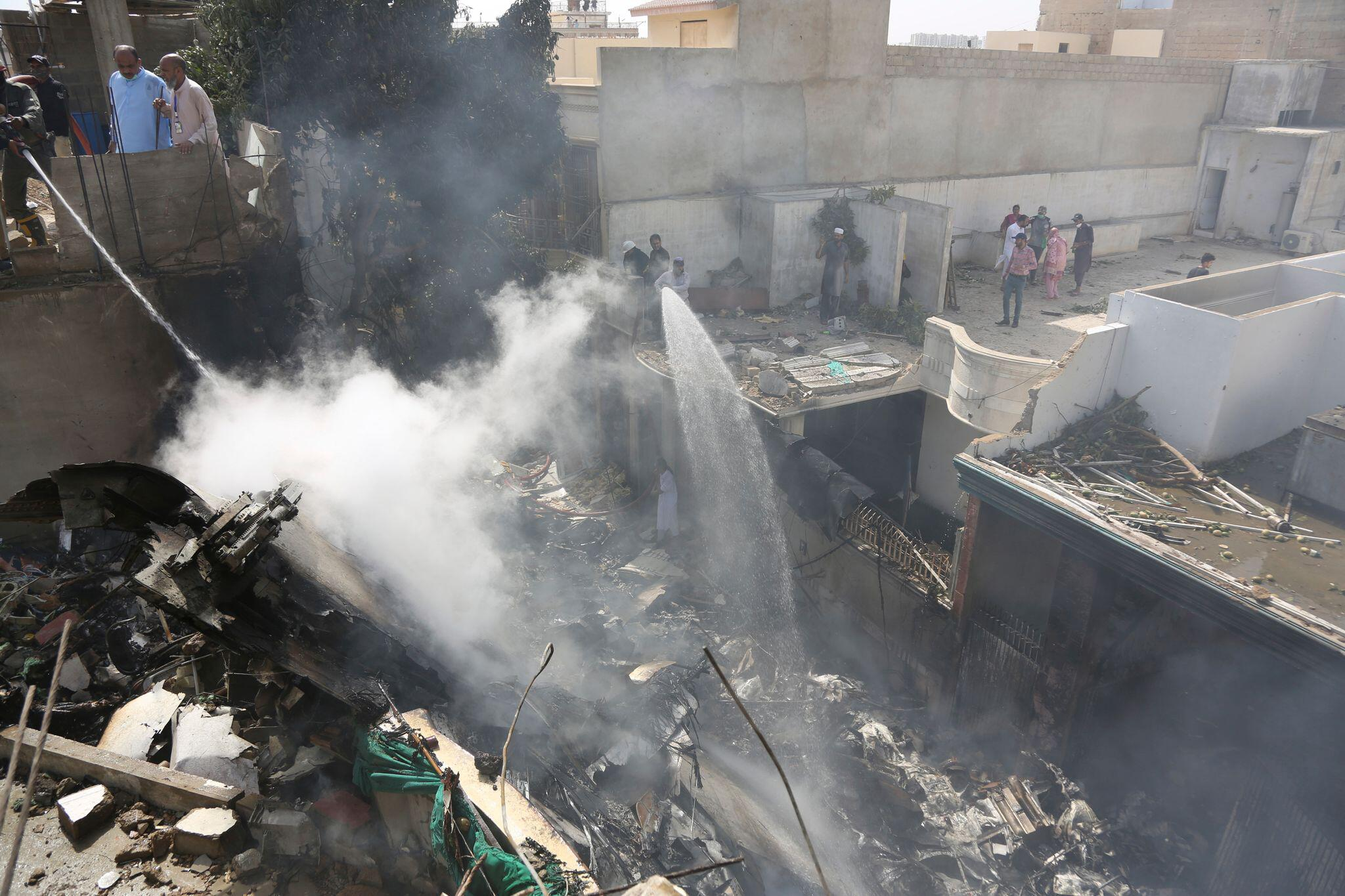 Bild zu Flugzeugabsturz in Pakistan