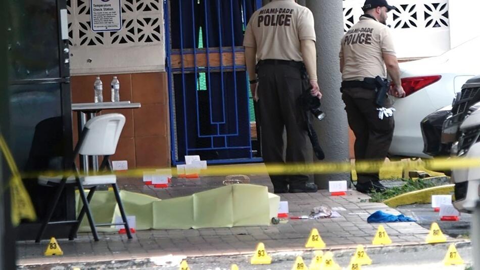 Schüsse vor Club in US-Bundesstaat Florida