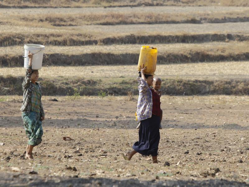 Bild zu Dürre in Myanmar