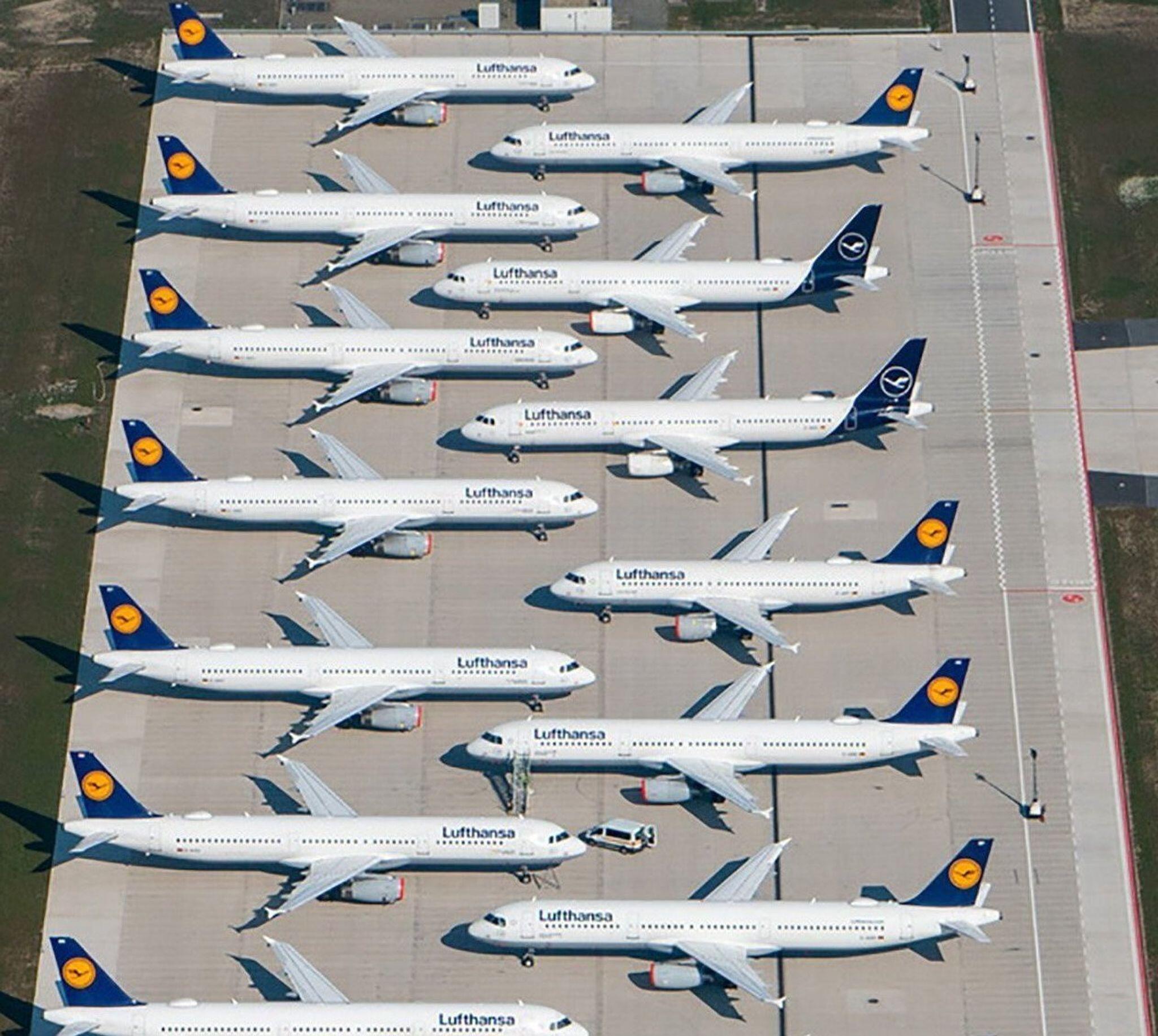 Bild zu Corona-Krise - Lufthansa-Rettungspaket