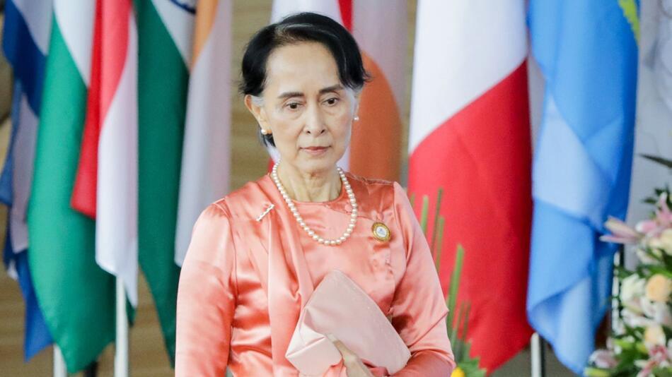 Aung San Suu Kyi in Myanmar festgesetzt