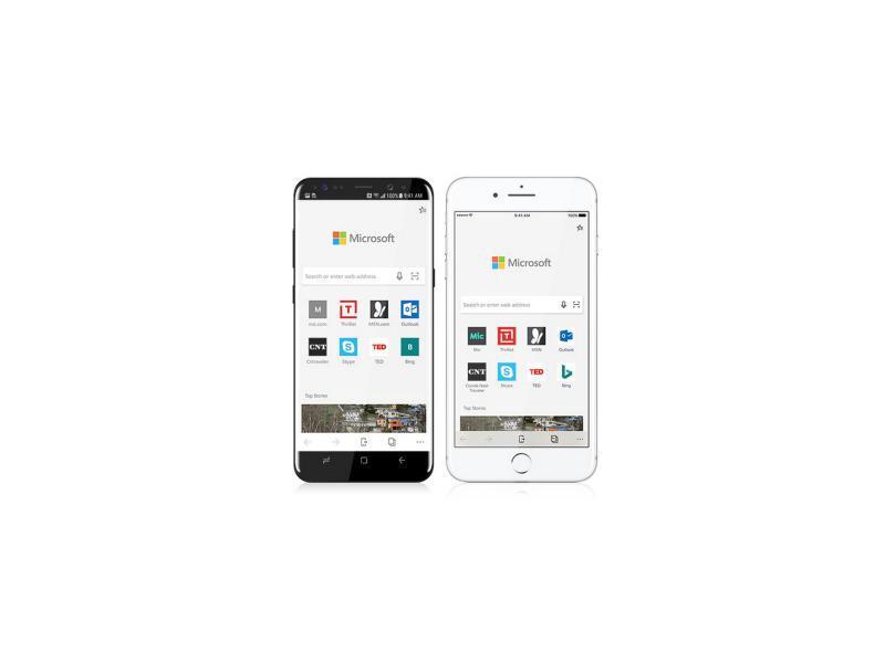 edge browser f r android und ios ist da web de. Black Bedroom Furniture Sets. Home Design Ideas