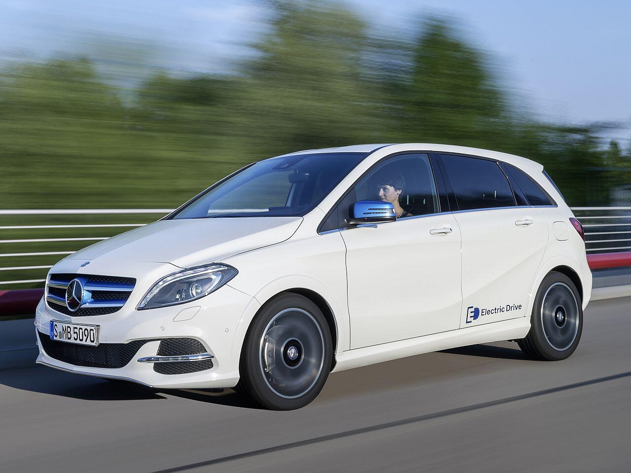 Bild zu Mercedes B-Klasse Electric Drive