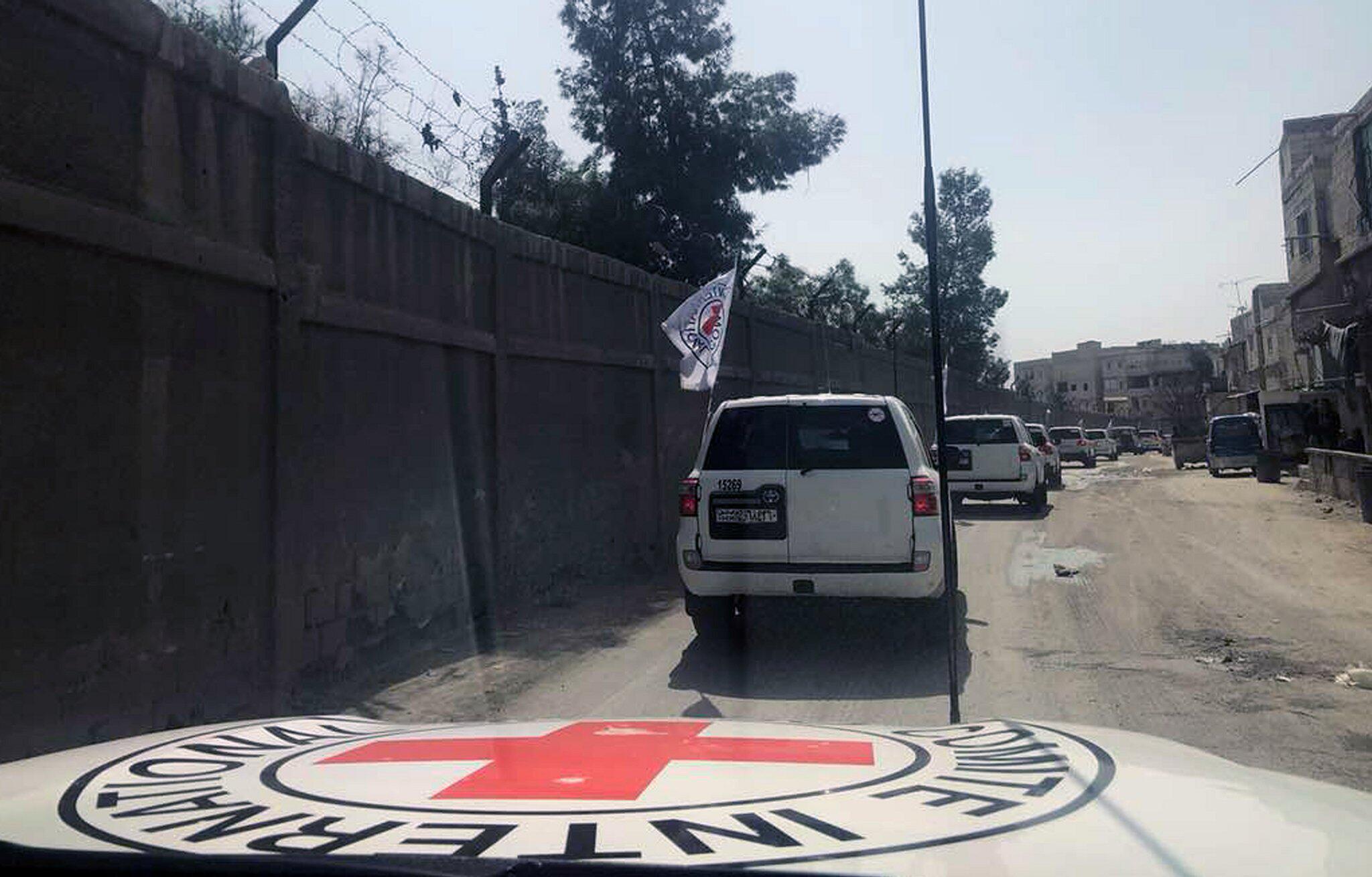 Bild zu Hilfskonvoi in Ghouta