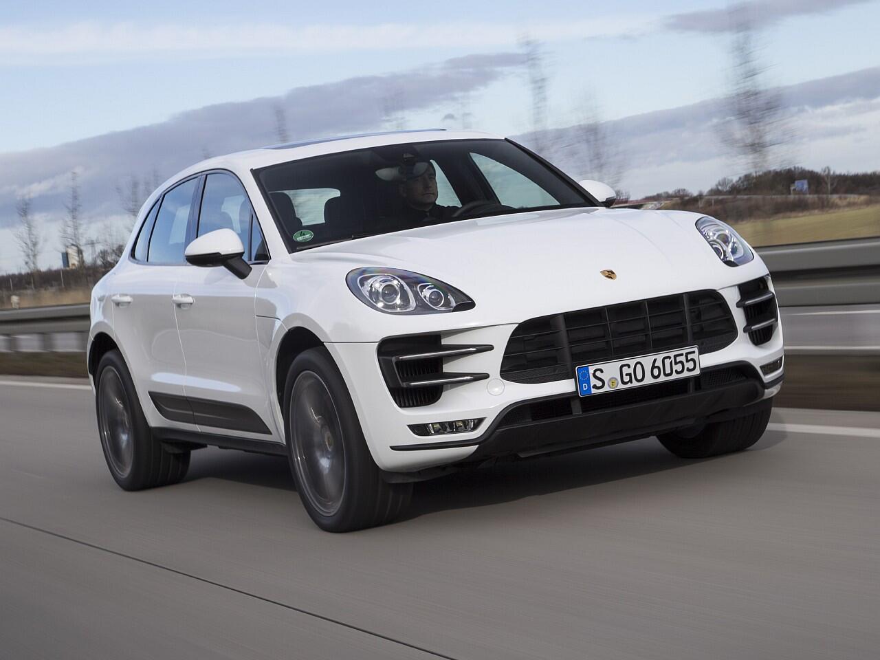 Bild zu Kompakte SUVs: Porsche Macan Turbo