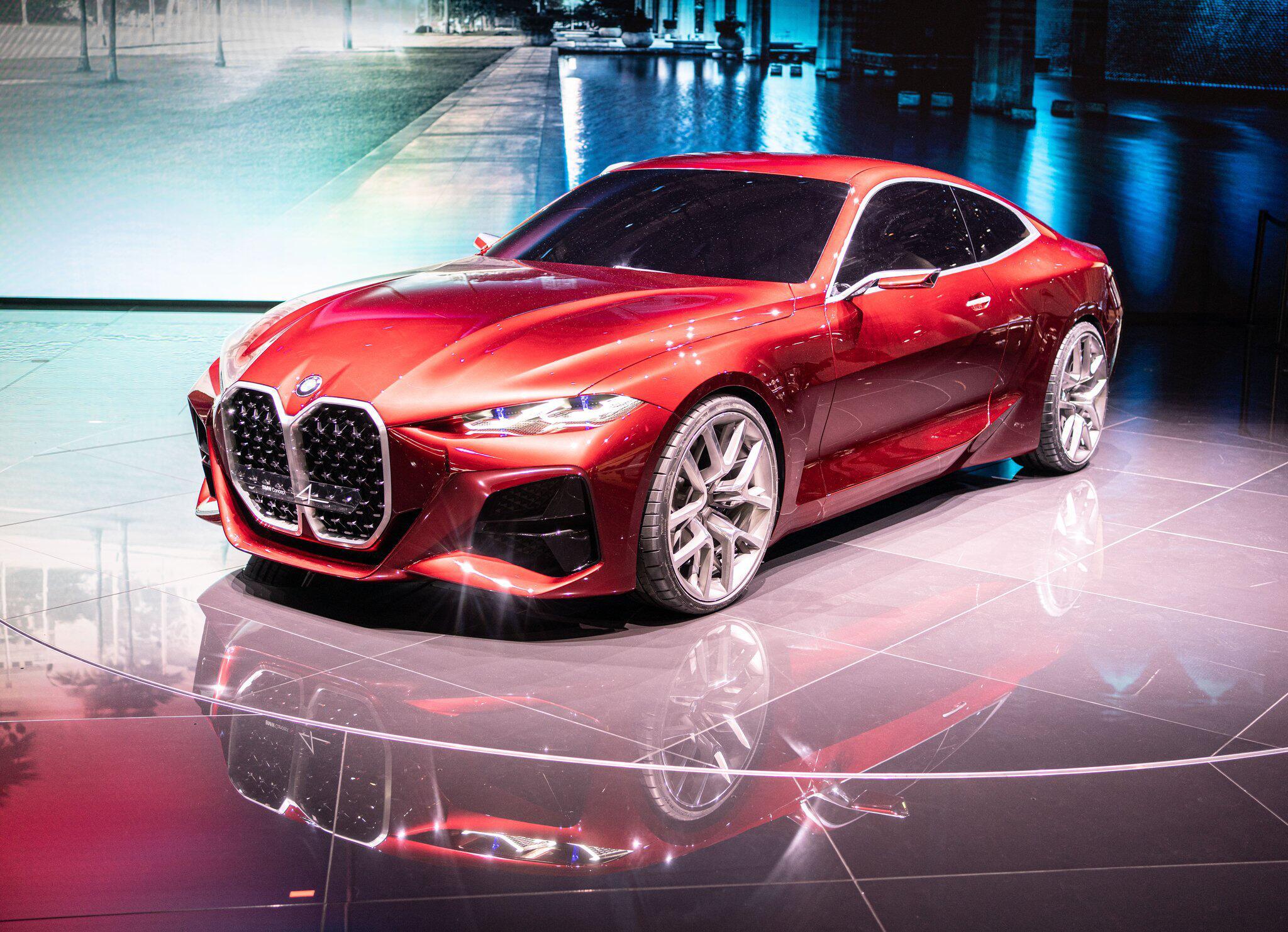 Bild zu Neuauflage: BMW Concept 4 gibt Ausblick auf neue Vierer-Reihe