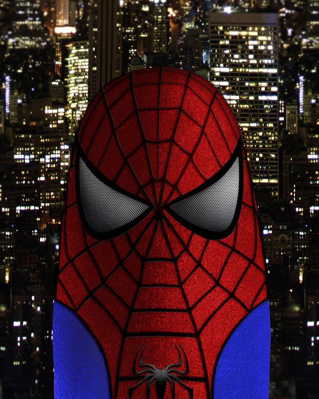 Bild zu Spider-Man-Daumen