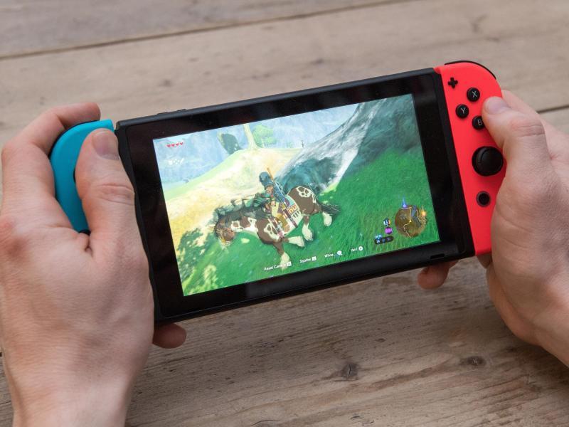 Bild zu Nintendo Switch: Display