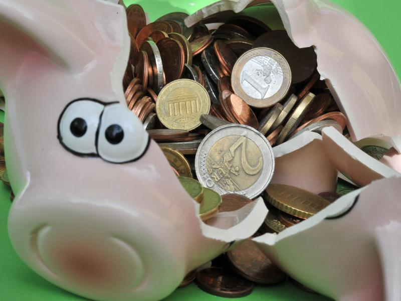 Bild zu Geschlachtetes Sparschwein