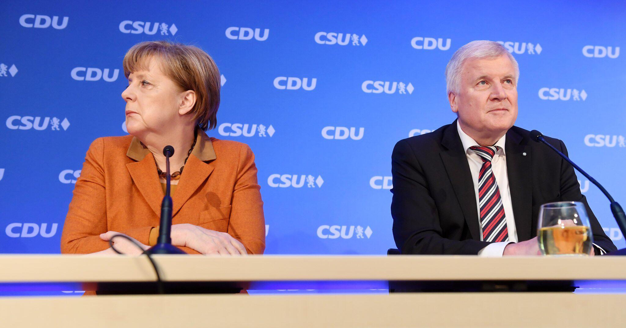 Bild zu Spitzentreffen von CDU und CSU