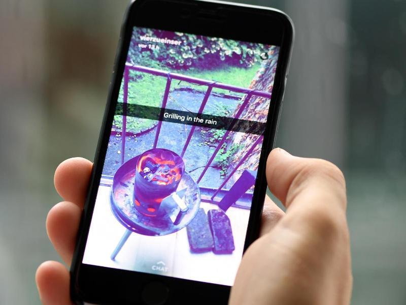 Bild zu Ereignisse auf dem Handy festhalten