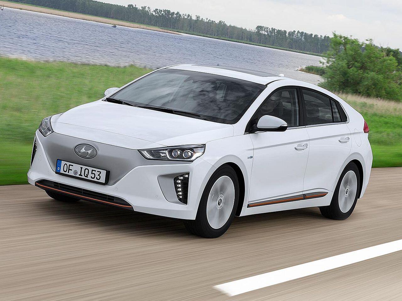 Bild zu Elektrofahrzeuge: Hyundai Ioniq Elektro