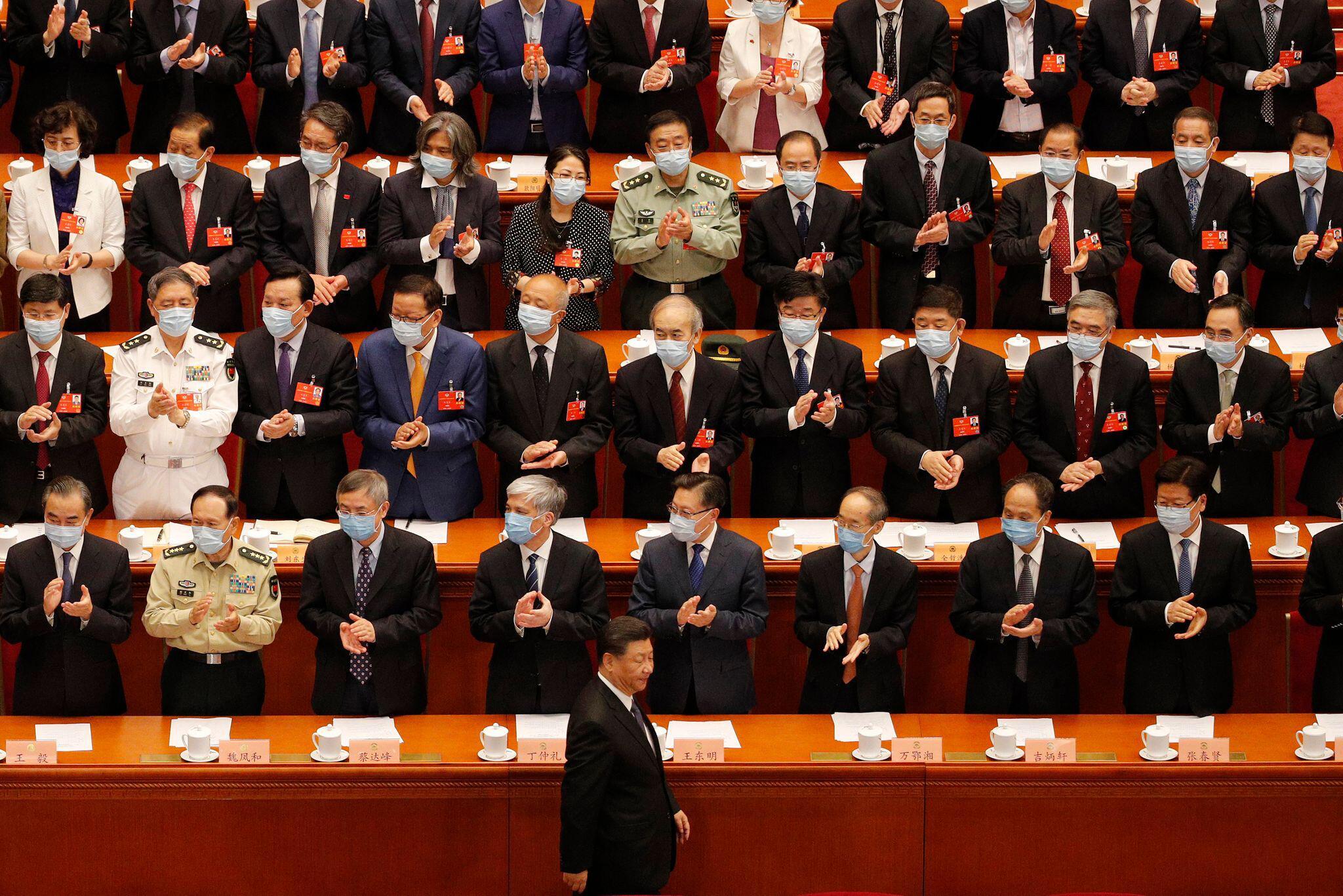 Bild zu Volkskongress in China