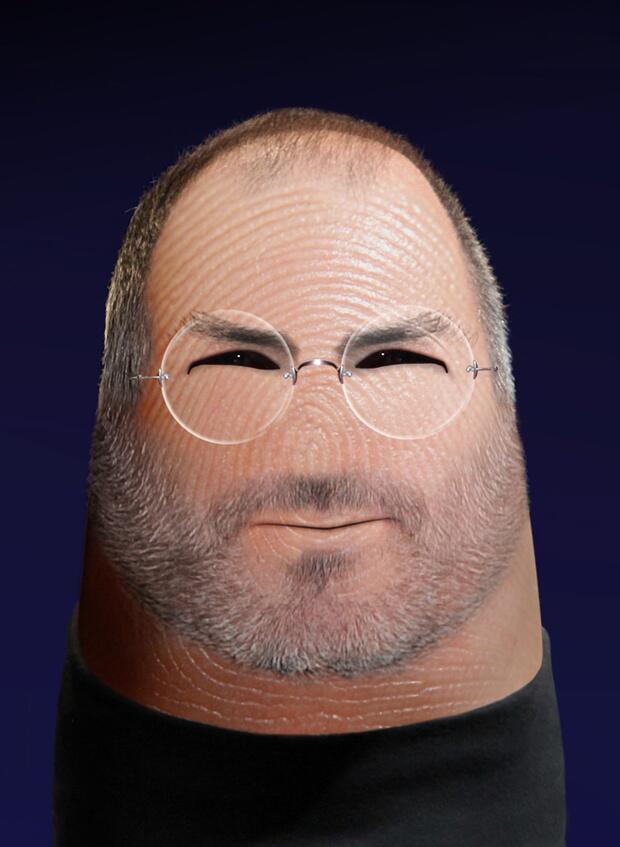 Bild zu Steve Jobs als Däumling