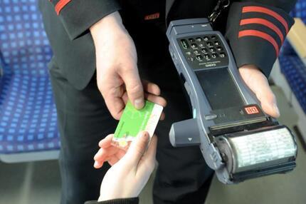 Fahrkartenkontrolle