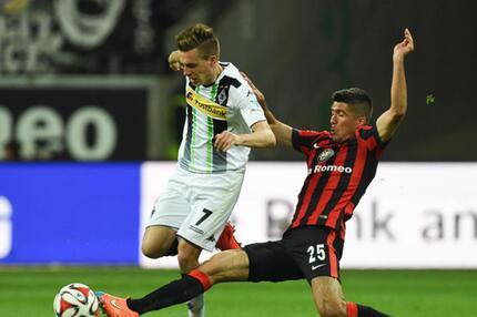 Eintracht Frankfurt - Bor. Mönchengladbach