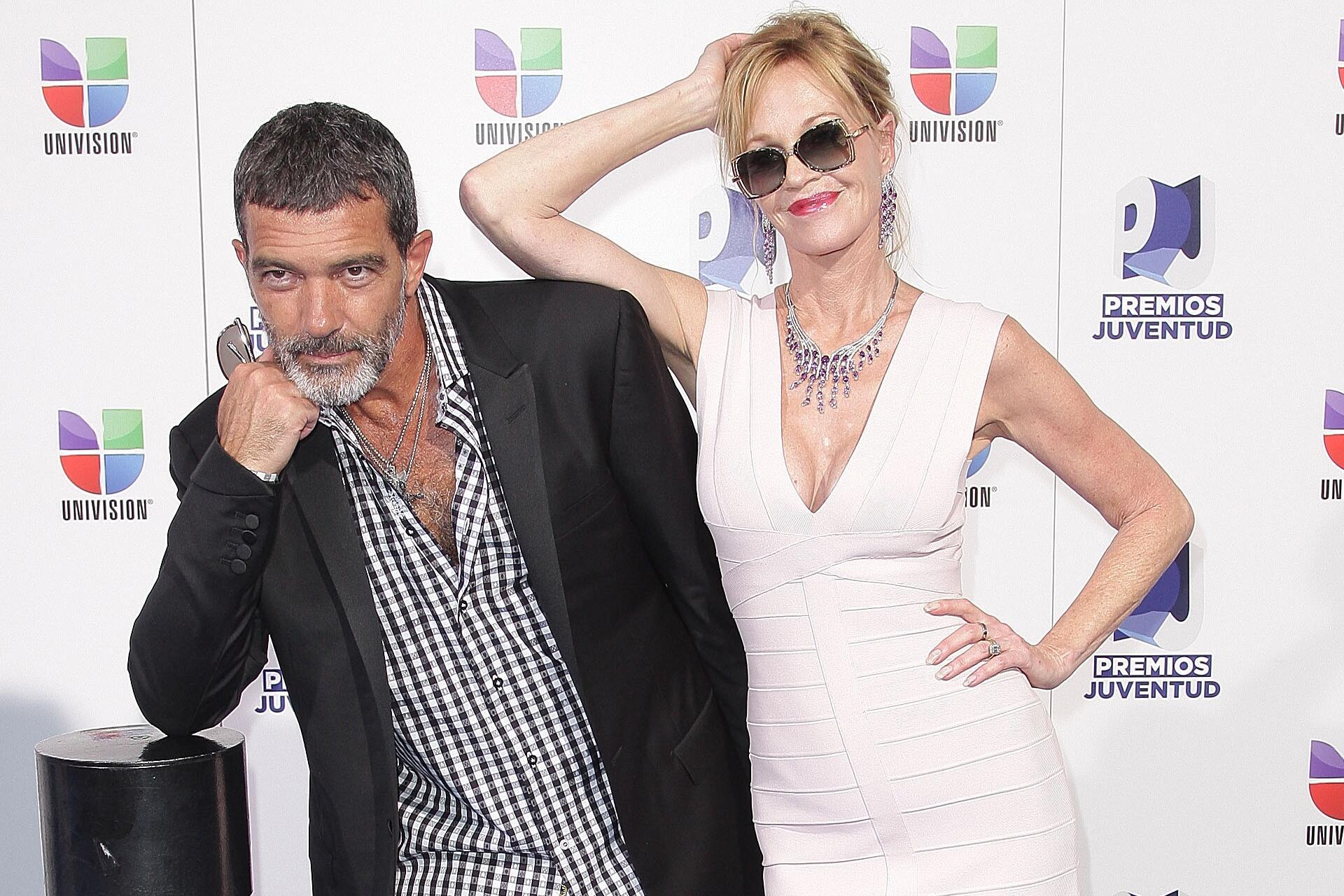 Bild zu Antonio Banderas, Melanie Griffith, Geburtstag, Liebe