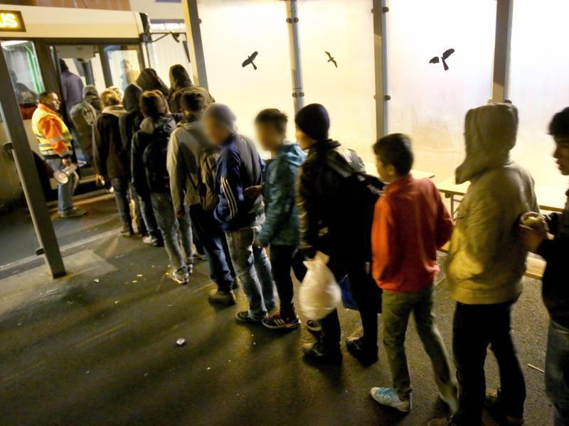 Bild zu Minderjährige Flüchtlinge