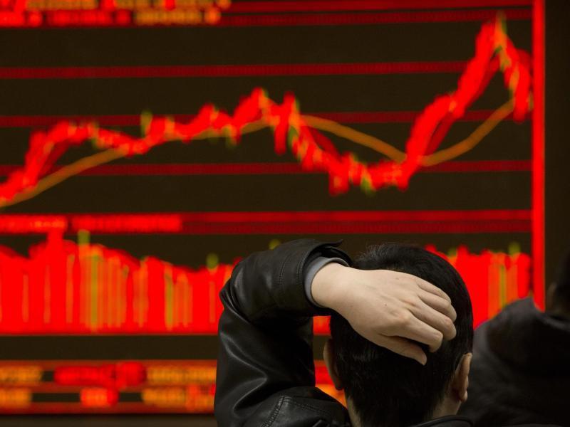 Bild zu Kursverluste in China