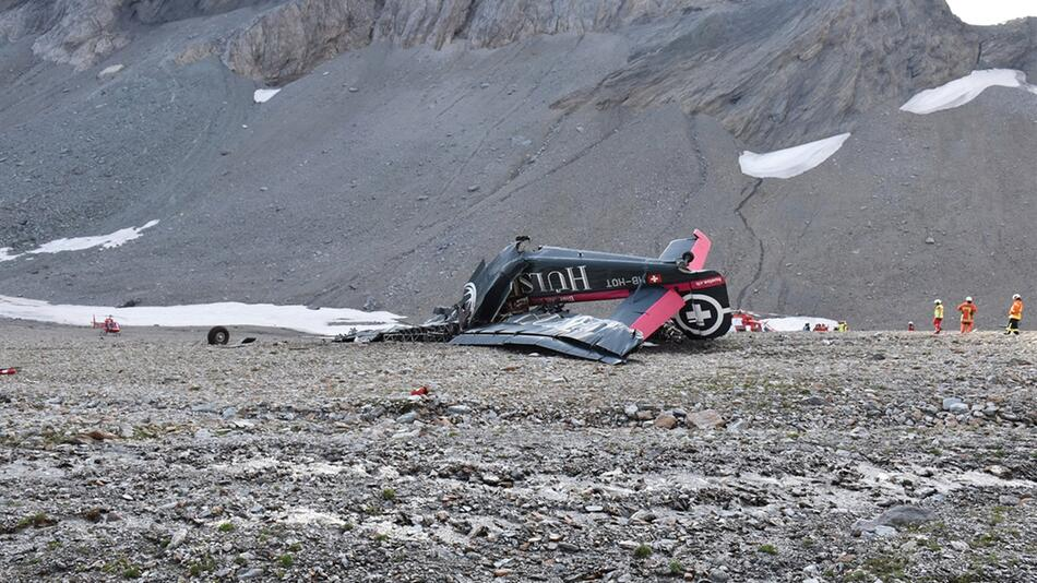 Flugzeugabsturz in der Schweiz