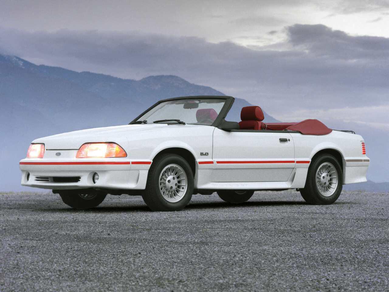 Bild zu Ford Mustang GT Cabrio (1987)
