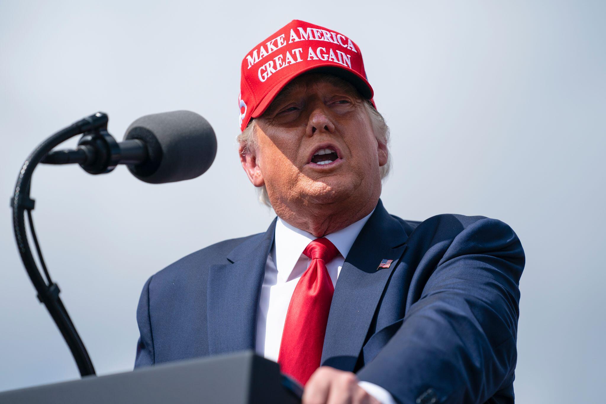 Bild zu Wahlkampf in den USA – Trump