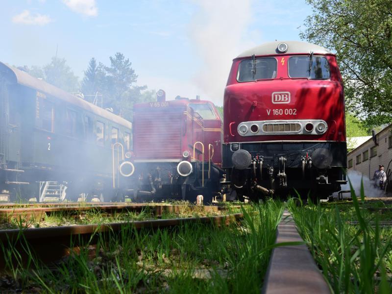 Bild zu Dampflokomotiven