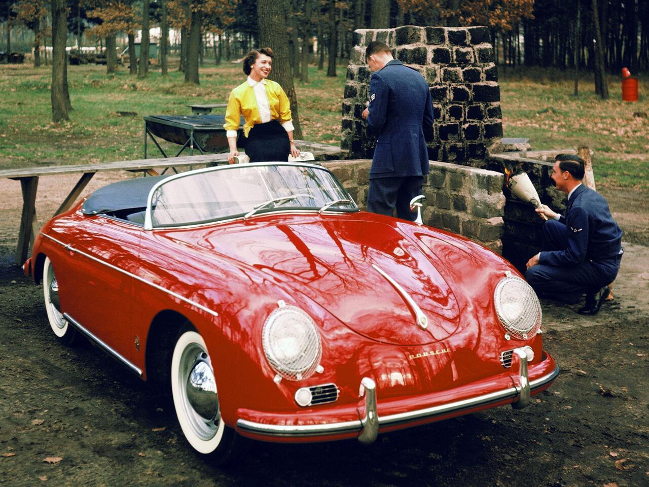 Bild zu Porsche 356 Speedster, 1954, Cabrio