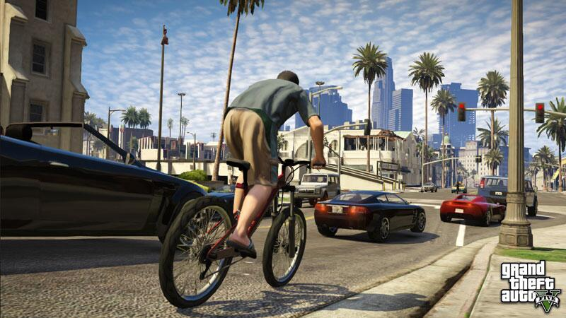 Bild zu Biken in Los Santos