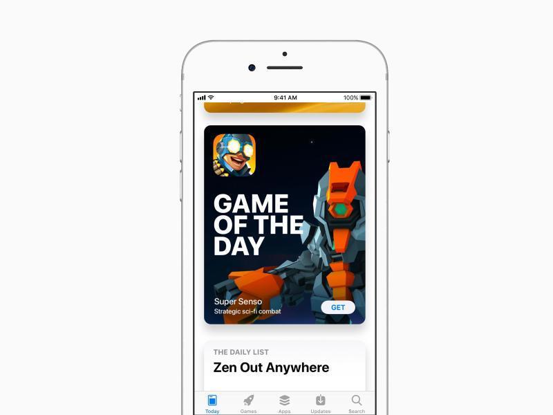 Bild zu «Heute»-Tab im App Store